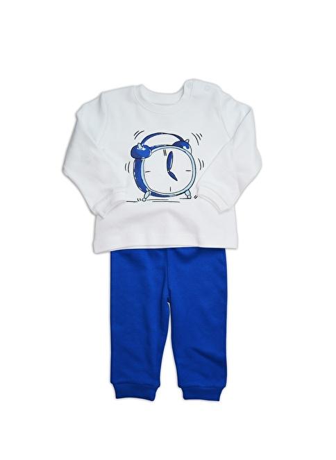 Baby Corner Eşofman Takım Beyaz